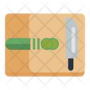 Cucumber Knife Ingredient Icon