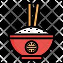 Chopsticks Etiquette Asian Belief Icon