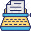 Chordboard Dictation Machine Stenographer Icon