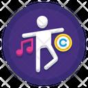 Choreography Copyright Icon