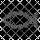 Christian Fish Religious Icon