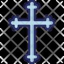 Christian Christianity Halloween Cross Icon