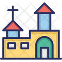 Christian Christion Building Church Icon