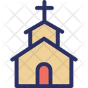 Christian Church Church Home Icon