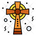 Christian Clover Cross Icon