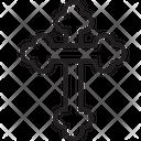 Christian Cross Religion Icon