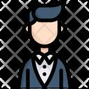 Christian Groom Icon