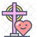 Christian love Icon