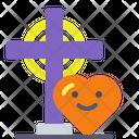 Christian Love Cross Christian Icon