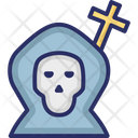 Christianity Cross Grave Icon