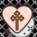 Christianity Love Icon