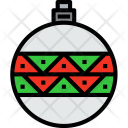 Christmas Bauble Holiday Icon