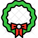 Christmas Wreath Holiday Icon
