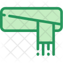 Christmas Holiday Scarf Icon