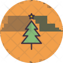 Christmas Easter Tree Icon