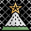 Christmas Star Tree Icon