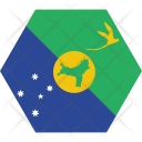 Christmas Island Country Icon
