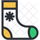 Christmas Accessories Socks Icon