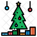 Christmas Tree Decoration Icon