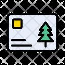 Christmas Card Celebration Icon