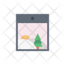 Christmas Picture Photo Icon