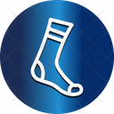 Christmas Footwear Sock Icon