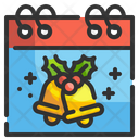 Christmas Day Date Icon