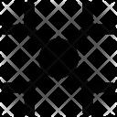 Christmas Flake Snowflake Icon