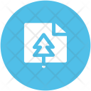 Christmas Card Greeting Icon