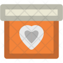 Christmas Card Love Icon