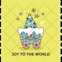 Greeting Card Christmas Icon