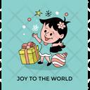 Little Girl Happy Icon