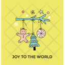 Christmas Accessories Toys Icon