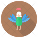 Angel Christmas Decoration Icon
