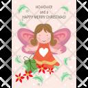 Christmas Angel Icon