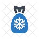 Toffee Candy Snowflake Icon