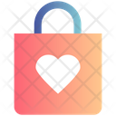 Heart Christmas Bag Love Icon