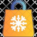 Christmas Bag Gift Decoration Icon
