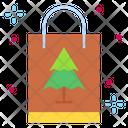 Bag Christmas Bag Shopping Bag Icon