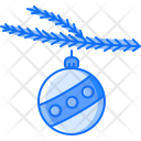 Ball Holiday Branch Icon
