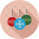 Christmas Ball Balloons Icon