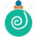Bauble Decorations Christmas Icon