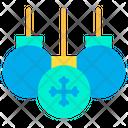 Celebration Decoration Bauble Icon