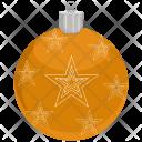 Ball Christmas Decoration Icon