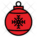Christmas Ball Decoration Icon