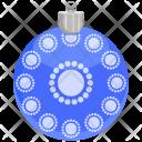 Ball Christmas Ornament Icon