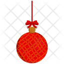 Bulb Christmas Decoration Icon