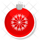 Ball Christmas Toy Icon