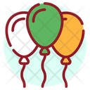 Balloons Party Balloons New Year Balloons Icon