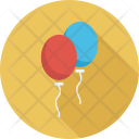 Christmas balloons Icon